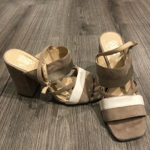 Vince Commuto Strappy Heal Sandals